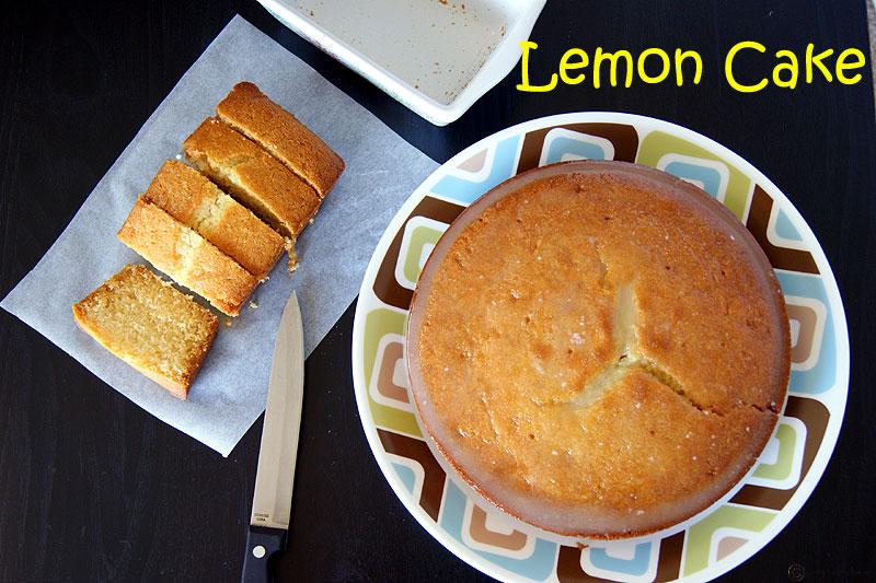 Eggless Lemon Cake With Lemon Icing No Eggs Recipe